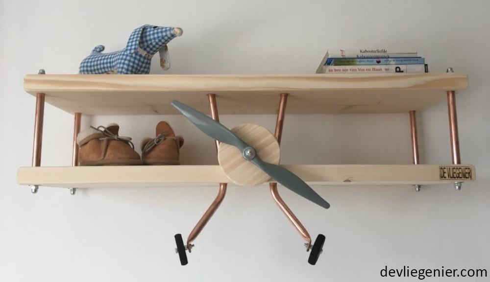 Vliegtuigwandplank De Vliegenier
